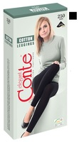 ЛЕГГИНСЫ Conte COTTON LEGGINGS 250 DEN Nero