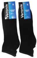 Веронис носки мужские средне укороченные черные Арт.М5А1
