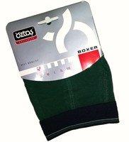 OZTAS Боксеры мужские однотонные темно-зеленые Арт.А1716