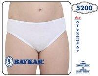 Байкар, Трусы для девочки белые Арт.5200