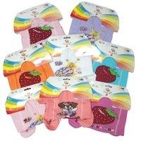 НОСКОФФ (Алсу) Колготки для девочек под памперс, с рисунком на попе Арт.КД9-Д