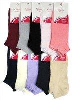 Гамма Летние укороченные женские носки с ажурным рисунком на резинке Арт.С749