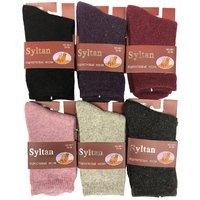 SYLTAN, Носки подростковые, верблюжья шерсть, однотонные Арт.3871-1