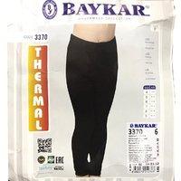 Байкар, Термо-штаны, для мальчиков, внутри флис, черные Арт. 3370