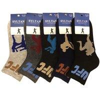 """SYLTAN, Носки подростковые, для мальчиков, цветные, спорт """"UFC"""" Арт.3208"""
