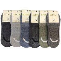 SYLTAN, Следки мужские, меланжевые, разные цвета Арт.9515