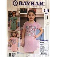 Байкар, Сорочка ночная для девочек, фисташковая Арт.9115