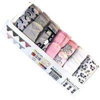 NICOLETTA, Трусы-недельки для девочек, цветные Арт.40918