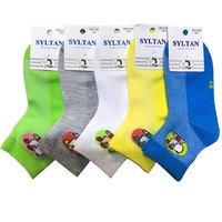 """SYLTAN, Носки детские для мальчиков, хлопок, сетка с рисунком """"Собачка"""" Арт.3139"""