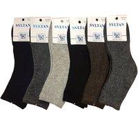 SYLTAN, Носки для мальчиков, тонкая собачья шерсть, однотонные Арт.4045