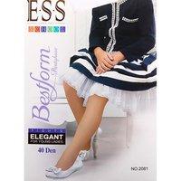 E.S.S., Детские эластичные колготки, белые, 40 Den Арт.Elegant 2081