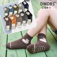 DMDBS, Носки для мальчиков, кашемировые, внутри махровые, с рисунком ,,Овечки,, и тормозами Арт.C709-1