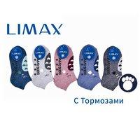 LIMAX, Носки следки детские, ангора, внутри махровые с тормозами Арт.82036