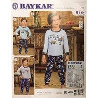 Байкар, Пижама для мальчиков, оливковая Арт.9779