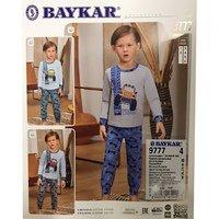 Байкар, Пижама для мальчиков, светло голубая Арт.9777