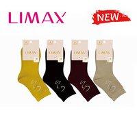 """LIMAX, Носки женские, внутри махровые, хлопок, однотонные с рисунком """"Зигзаг"""" Арт.75079"""