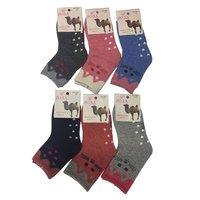 Роза, носки детские верблюжья шерсть Арт. 3841