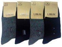 """ЛИМАКС (LIMAX) Носки мужские средне-укороченные ассорти """"маленький рисунок на паголенке""""Арт.В6168В"""