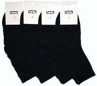 Фурба носки подростковые хлопок + эластан для мальчиков черный Арт.В-048