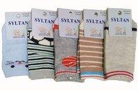 SYLTAN Носки с тормозами для новорожденных мальчиков, хлопок, с рисунком Арт.3516