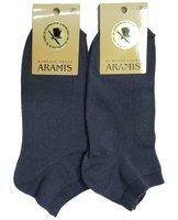 Aramis, Носки мужские короткие темно-серые Арт.К39
