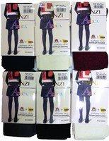 MANZI Колготки для девочек школьные модал, фантазийный рисунок Арт.56050
