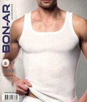 BON-AR Турция, Майка мужская 100% хлопок белая Арт.16-378