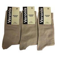 Веронис носки мужские классические бежевый Арт.М3А1
