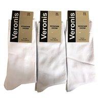 Веронис носки мужские классические белый Арт.М3А1