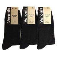 Веронис носки мужские классические черные Арт.М3А1
