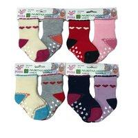 Роза, носки детские малютки для девочек внутри махровые  Арт. 3883-1